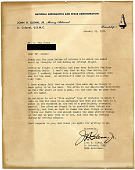 view John Herschel Glenn, Jr. Orbital Flight Letter digital asset: John Herschel Glenn, Jr. Orbital Flight Letter