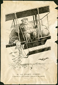 view William Howard Taft Aviation Cartoon digital asset: William Howard Taft Aviation Cartoon