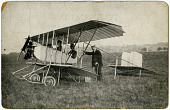 view Hendon Aerodrome Photographs [Rix] digital asset: Hendon Aerodrome Photographs [Rix]
