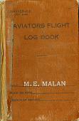 view Captain Max E. Malan USN Pilot Logs digital asset: Aviators Flight Logbook