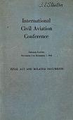 view Civil Aeronautics Administration, International Civil Aviation Organization digital asset: Civil Aeronautics Administration, International Civil Aviation Organization