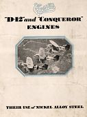 view D-12 and Conqueror Engines - Their Use of Nickel Alloy Steel, The International Nickel Company, Inc. digital asset: D-12 and Conqueror Engines - Their Use of Nickel Alloy Steel, The International Nickel Company, Inc.