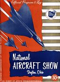 view National Aircraft Show (Dayton, Ohio) Official Program and Log digital asset: National Aircraft Show (Dayton, Ohio) Official Program and Log