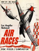 view 1966 National Air Races (Los Angeles), Program digital asset: 1966 National Air Races (Los Angeles), Program