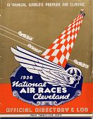 view 1938 National Air Races (Cleveland), Official Directory and Log digital asset: 1938 National Air Races (Cleveland), Official Directory and Log