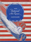 view 1934 National Air Races (Cleveland), Official Program digital asset: 1934 National Air Races Official Program (Cleveland)