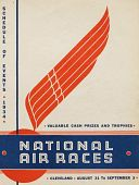 view 1934 National Air Races (Cleveland), Schedule of Events digital asset: 1934 National Air Races Schedule of Events