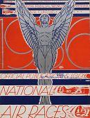 view 1936 National Air Races (Los Angeles), Official Program digital asset: 1936 National Air Races Official Program