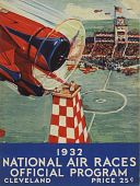 view 1932 National Air Races  (Cleveland), Official Program digital asset: 1932 National Air Races Official Program (Cleveland)