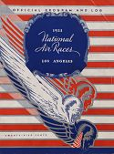 view 1933 National Air Races (Los Angeles), Official Program digital asset: 1933 National Air Races Official Program (Los Angeles)