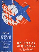 view 1937 National Air Races (Cleveland), Schedule of Events digital asset: 1937 National Air Races (Cleveland), Schedule of Events