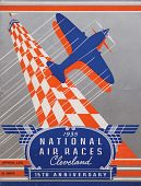 view 1935 National Air Races (Cleveland), Official Program digital asset: 1935 National Air Races Official Program (Cleveland)