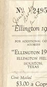 view James W. Brody Collection digital asset: 1918 Ellington Field Yearbook