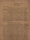 view Correspondence digital asset: Correspondence