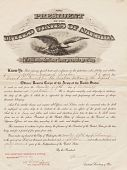 view Certificates, U.S. Army Air Service promotions for Brooks and from Bell Telephone Laboratories, Inc., contribution to war effort digital asset: Certificates, U.S. Army Air Service promotions for Brooks and from Bell Telephone Laboratories, Inc., contribution to war effort  Circa 1945