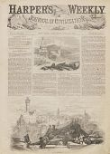 """view """"About Flying-Machines."""" Two page balloon article with numerous illustrations digital asset: """"About Flying-Machines."""" Two page balloon article with numerous illustrations"""