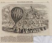 "view ""Juvenile Fete and Balloon Race at Cremorne Gardens."" Short text digital asset: ""Juvenile Fete and Balloon Race at Cremorne Gardens."" Short text"