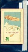 """view """"A Happy New Year."""" Airship drops shamrocks and $100,000 packages digital asset: """"A Happy New Year."""" Airship drops shamrocks and $100,000 packages"""