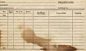 view Pilot Log Book (No. 1; brown) - Martie E. Bowman digital asset: Pilot Log Book (No. 1; brown) - Martie E. Bowman