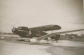view Photographs of glider and aircraft digital asset: Photographs of glider and aircraft