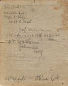 view Alva R. DeGarmo Collection digital asset: Flight Record Logbook #1