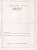 view Manuals, Stewardess Manual (1 of 2) digital asset: Manuals, Stewardess Manual (1 of 2)
