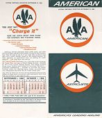 "view American Airlines [Timetable], ""American System Timetable effective September 21, 1966"" digital asset: American Airlines [Timetable], ""American System Timetable effective September 21, 1966."""
