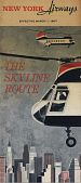 "view New York Airways [Timetable],""New York Airways,  effective March 1, 1967: The Skyline Route"" digital asset: New York Airways [Timetable],""New York Airways,  effective March 1, 1967: The Skyline Route"""