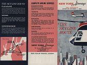 "view New York Airways [Timetable],"" New York Airways, Fall Schedule effective October 1, 1966: The Skyline Route"" digital asset: New York Airways [Timetable],"" New York Airways, Fall Schedule effective October 1, 1966: The Skyline Route"""