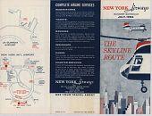 """view New York Airways [Timetable],"""" New York Airways, Summer Schedule July 1962: The Skyline Route"""" digital asset: New York Airways [Timetable],"""" New York Airways, Summer Schedule July 1962: The Skyline Route"""""""
