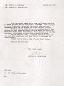 view Correspondence, AVENSA Project 1967 (Aerovias Venezolanas S.A.) digital asset: Correspondence, AVENSA Project 1967 (Aerovias Venezolanas S.A.)