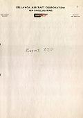 view Report 220 Calculation of Mean Aerodynamic Chord, Bellanca Model 22-80 (Alternate), VF Proposal -- Biplane, October 29, 1935 digital asset: Report 220 Calculation of Mean Aerodynamic Chord, Bellanca Model 22-80 (Alternate), VF Proposal -- Biplane, October 29, 1935