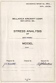 view Report 450-A Stress Analysis of Basic Criteria, Model 14-13, April 19, 1946 - August 15, 1946 digital asset: Report 450-A Stress Analysis of Basic Criteria, Model 14-13, April 19, 1946 -- August 15, 1946