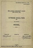 view Report 453 Stress Analysis of Tail Surfaces, Model 14-13, September 29, 1945 - November 9, 1945 [Two Copies] digital asset: Report 453 Stress Analysis of Tail Surfaces, Model 14-13, September 29, 1945 -- November 9, 1945 [Two Copies]