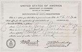 view Birth Certificate digital asset: Birth Certificate