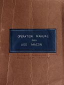 view ZRS-5 Macon - operation manual digital asset: ZRS-5 Macon - operation manual