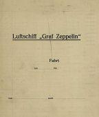 view LZ 127 Graf Zeppelin - sample flight log digital asset: LZ 127 Graf Zeppelin - sample flight log