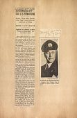 view Scrapbook – clippings, Hindenburg crash digital asset: Scrapbook – clippings, Hindenburg crash