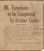 view Weldon B. Cooke Collection digital asset: Original Newspaper Articles