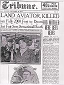 view Newspaper Articles - Death of Cooke digital asset: Newspaper Articles - Death of Cooke