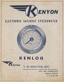 view Kenyon Marine; Ken-Lab - Correspondence, Photographs, Patents, Brochures digital asset: Kenyon Marine; Ken-Lab - Correspondence, Photographs, Patents, Brochures
