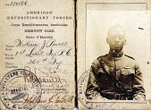 view American Expeditionary Forces (AEF) Identification Card digital asset: American Expeditionary Forces (AEF) Identification Card