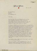 view Correspondence with Robert Woods Johnson digital asset: Correspondence with Robert Woods Johnson