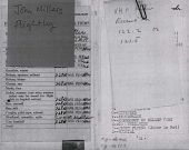 view Aviator's Flight Log Book, 1943 (Photocopy) digital asset: Aviator's Flight Log Book, 1943 (Photocopy)