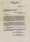 view Letter, Bureau of Air Commerce authorization for autogiro flights for Dutch Elm Disease Eradication Project digital asset: Letter, Bureau of Air Commerce authorization for autogiro flights for Dutch Elm Disease Eradication Project