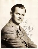 view Signed Photo from Lawrence Tibbett digital asset: Signed Photo from Lawrence Tibbett