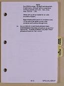 view Orbit Pocket Checklist, STS ALL, [yellow band] Flight Data File, JSC-48033, Generic, Rev. F, NASA [2 of 2] digital asset: Orbit Pocket Checklist, STS ALL, [yellow band] Flight Data File, JSC-48033, Generic, Rev. F, NASA [2 of 2]