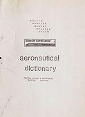 view Aeronautical Dictionary digital asset: Aeronautical Dictionary
