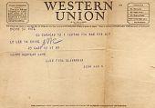 view Correspondence -- Telegrams digital asset: Correspondence -- Telegrams