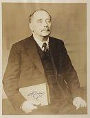 view Photographs -- Autographed Photo of H. G. (Herbert George) Wells digital asset: Photographs -- Autographed Photo of H. G. (Herbert George) Wells